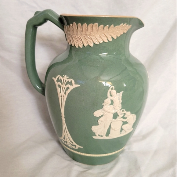 Antique Wardle Pitcher | Angels | Late 1800s